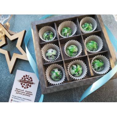Набор 9 корпусных конфет камуфляж