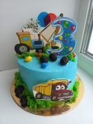 Торт  на детский день рождения для мальчика