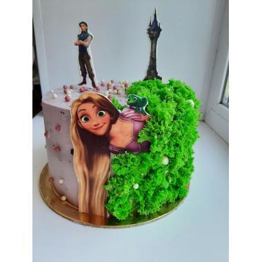 Торт  на детский день рождения для девочки