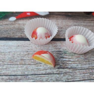 Набор 7 корпусных конфет из белого шоколада и зефир