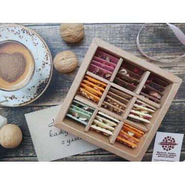 Набор 36 мини плиток шоколада
