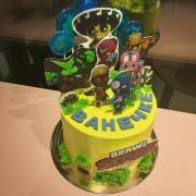 """Торт """"Красный бархат с малиновым конфи"""" на детский день рождения Brawl Stars"""